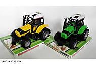 Детская спецтехника трактор, 666-112A, купить