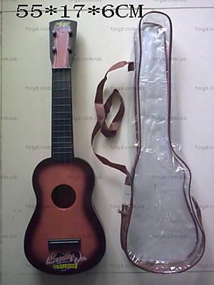Детская струнная гитара, с сумкой, Q650A47