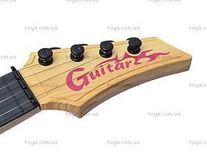 Детская струнная гитара, в сумке, Q695A25, фото