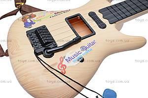 Детская струнная гитара, в сумке, Q695A25, игрушки