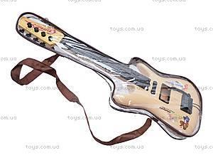 Детская струнная гитара, в сумке, Q695A25