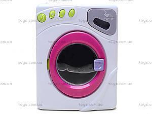 Детская стиральная машина с эффектами, 6890A, игрушки