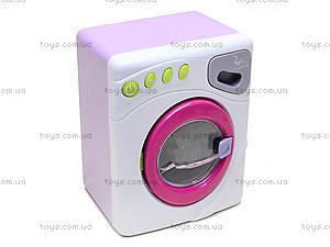 Детская стиральная машина с эффектами, 6890A, детские игрушки