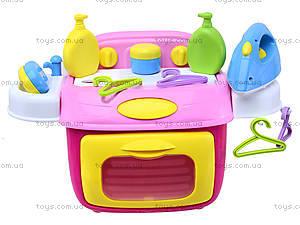 Детская стиральная машина с утюгом, 008-92A, детские игрушки