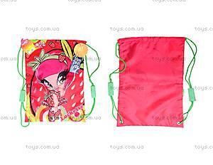 Детская сумка для обуви с карманом Pop Pixie, PP14-601-2K