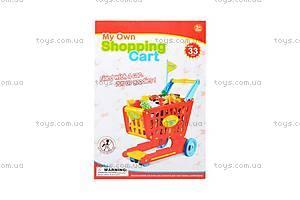 Детская тележка с продуктами, 6619A, купить
