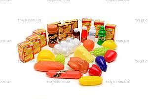 Детская тележка с продуктами, 6619A, фото