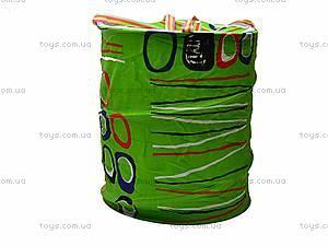 Детская тканевая корзина для игрушек, 1497-33, купить