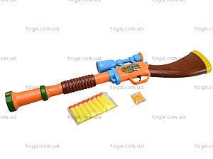 Детская винтовка с дартсом, 567A, игрушки