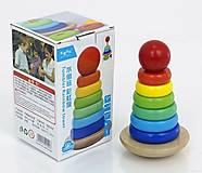 Детская игра «Построй пирамидку» , 0 4, фото