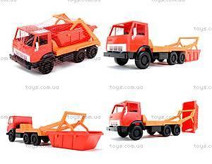 Детский грузовик «Коммунальная машина», 600