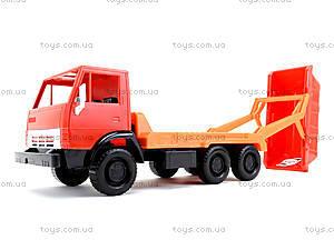 Детский грузовик «Коммунальная машина», 600, отзывы