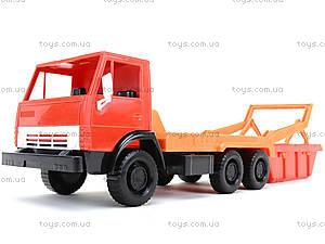 Детский грузовик «Коммунальная машина», 600, цена