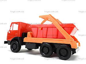 Детский грузовик «Коммунальная машина», 600, игрушки