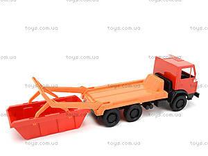 Детский грузовик «Коммунальная машина», 600, детские игрушки