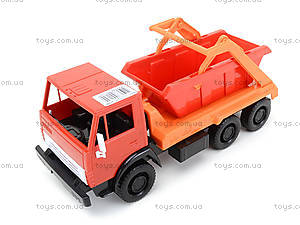 Детский грузовик «Коммунальная машина», 600, магазин игрушек