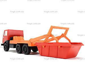 Детский грузовик «Коммунальная машина», 600, toys.com.ua
