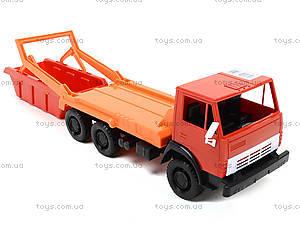 Детский грузовик «Коммунальная машина», 600, toys