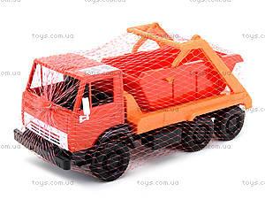 Детский грузовик «Коммунальная машина», 600, іграшки