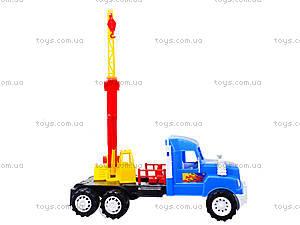 Детская игровая машина «Подъемный кран», 15-003-1, купить