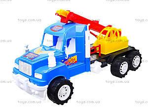 Детская игровая машина «Подъемный кран», 15-003-1, фото