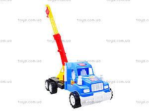 Детская игровая машина «Подъемный кран», 15-003-1, отзывы