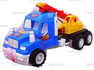 Детская игровая машина «Подъемный кран», 15-003-1, игрушки