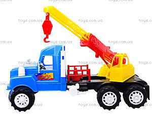 Детская игровая машина «Подъемный кран», 15-003-1, магазин игрушек