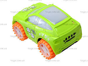 Детская игровая машинка со звуковым эффектом, 336-122A, детские игрушки