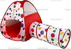 Детская игровая палатка с переходом, 66899, фото