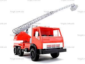 Детская игровая пожарная машина, 290, фото