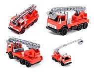 Детская игровая пожарная машина, 290, іграшки