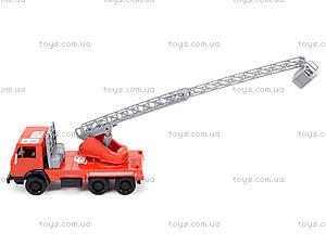 Детская игровая пожарная машина, 290, игрушки
