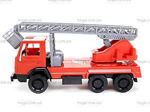 Детская игровая пожарная машина, 290, детские игрушки