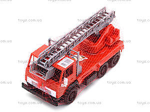 Детская игровая пожарная машина, 290, toys.com.ua