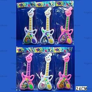 Детская игрушечная гитара со звуковыми эффектами, 911