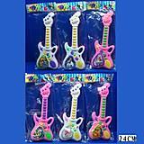 Детская игрушечная гитара со звуковыми эффектами, 911, фото
