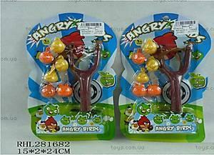 Детская игрушечная рогатка «Angry birds», 688-6