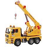 Детская игрушка «Автокран MAN», М1:16, 02754, купить