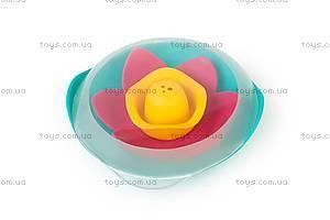 Детская игрушка для ванны - плавающий цветок LILI, 170471, іграшки