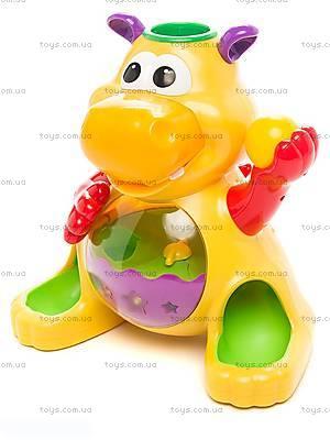 Детская игрушка «Гиппопотам», 049890, цена