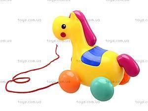 Детская игрушка-каталка «Лошадь», 863, купить