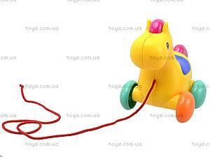 Детская игрушка-каталка «Лошадь», 863, отзывы