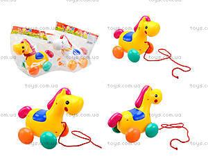 Детская игрушка-каталка «Лошадь», 863