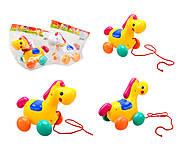 Детская игрушка-каталка «Лошадь», 863, интернет магазин22 игрушки Украина