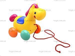 Детская игрушка-каталка «Лошадь», 863, детские игрушки