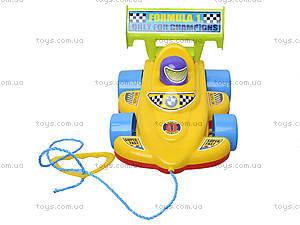 Детская игрушка-каталка «Спортивная машина», 06-604, купить
