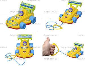 Детская игрушка-каталка «Спортивная машина», 06-604
