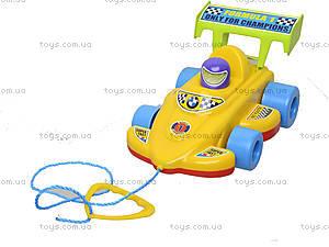 Детская игрушка-каталка «Спортивная машина», 06-604, отзывы