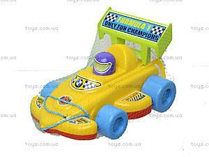 Детская игрушка-каталка «Спортивная машина», 06-604, цена